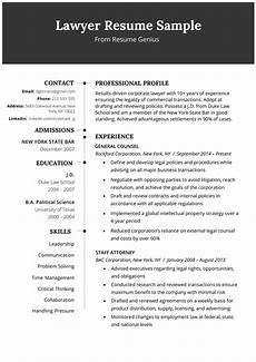 Photo Of A Resume Lawyer Resume Sample Amp Writing Tips Resume Genius