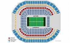 Cardinals Football Stadium Seating Chart Arizona Cardinals Home Schedule 2019 Amp Seating Chart