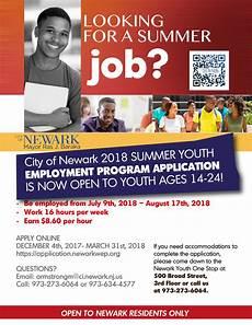 Summer Employment News 2018 Summer Youth Employment Program Application