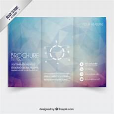 Downloadable Brochures Tri Fold Brochure Vector Free Download