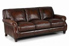 darby home co goldhorn leather sofa reviews wayfair