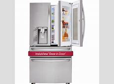 "LG LMXS30796S 36"" French Door Refrigerator with InstaView"