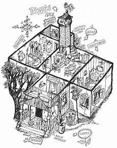 Ausmalbilder Haus Mit Schnee Chez Fifi Brindacier Pippi Longstrump S House Villa