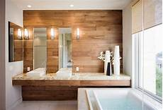 parete rivestita in legno 100 idee bagni moderni da sogno colori idee piastrelle