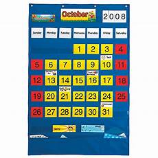 Scholastic Calendar Pocket Chart Calendar Pocket Chart English Spanish Playmonster