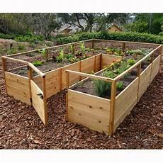 outdoor living today 8 x 12 cedar raised garden bed