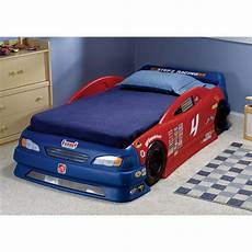 step 2 stock car convertible bed 172380 kid s furniture