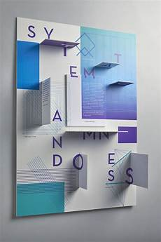 3d Printing Poster Design Interactive 3d Poster Design Unique Use Of Color White