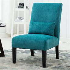 roundhill pisano fabric armless contemporary accent chair