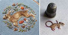 embroidery animals new incredibly intricate embroidered animals by