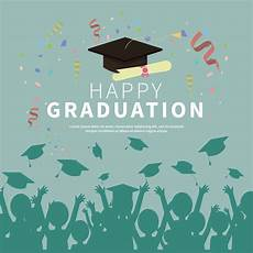 Graduation Card Design Graduation Card Illustration Download Free Vectors