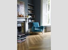 Cosy and calm, a reading space illuminated by light. (Featuring Amtico Spacia Honey Oak in