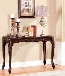 cheshire cherry sofa table from furniture of america