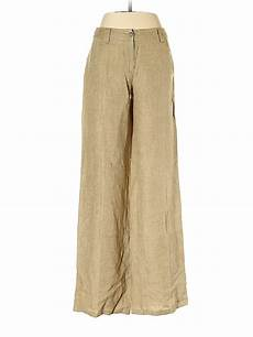 United Colors Of Benetton Size Chart United Colors Of Benetton 100 Linen Tan Linen Pants Size