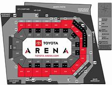Seating Charts Toyota Arena