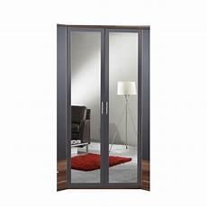 chicot corner 2 door mirrored wardrobe wayfair uk