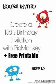 Create Printable Birthday Invitations Create A Personalized Kid S Birthday Invitation With