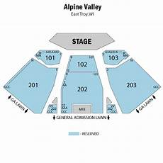 Alpine Valley Detailed Seating Chart Alpine Valley Shows And Dates Alpine Valley Section By