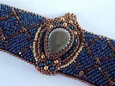 items similar to bead embroidery bracelet ooak seed bead