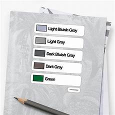 Light Bluish Gray Quot Brick Sorting Labels Light Bluish Gray Light Gray Dark