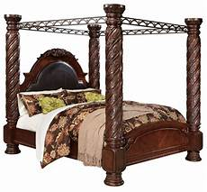 shore cal king poster bed with canopy from