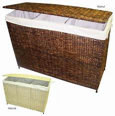 clothes 3 section america basket company woven maize metal three section
