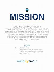 Mission Statement Sample What S Missing From Most Nonprofit Mission Statements