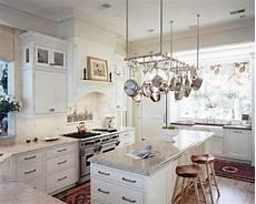 kitchen island with pot rack kitchen trends subtle ways to make your kitchen