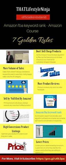 Amazon Fba Rank Chart How To Rank For Keywords On Amazon Amazon Fba Guide 7