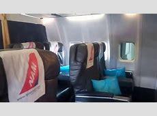 Pesawat Nam air Bisnis Class   YouTube