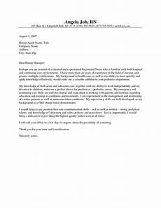 Nursing Grad Cover Letters Cover Letter For New Grad Nursing Position How To Write
