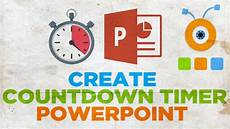Digital Timer Powerpoint How To Create A Countdown Timer In Powerpoint Youtube