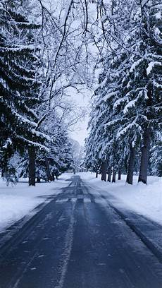 Winter Wallpaper For Iphone 8 by Wallpaper 938x1668 Winter Road Snow Trees