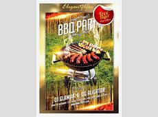 15 Free Barbecue Flyer Templates In PSD, Vector, Ai   Free