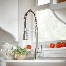 Kraus Kitchen Faucet Kraus Single Handle Kitchen Faucet With Pull Hose