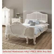 la rochelle antique rattan bed size