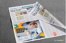 Free Advertising Papers 13 Professional Newspaper Psd Mockups Mockup Newspaper