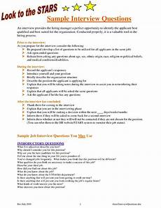 Sample Interview Free 26 Sample Hr Templates Amp Examples In Pdf Doc