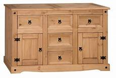 mercers furniture 174 corona mexican pine large 2 door 5