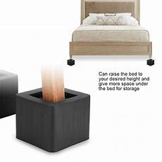4pcs adjustable heavy duty furniture risers sofa bed table