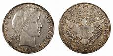 1902 Silver Dollar Value Chart 1902 O Barber Half Dollar Coin Value Prices Photos Amp Info