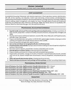 Accountant Resume Sample Staff Accountant Resume Example