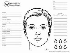 Brown Face Chart Blank Blank Makeup Face Chart Download Mac Wallpaper Download
