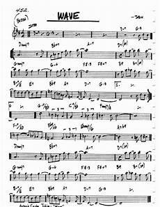 Alice In Wonderland Jazz Chart Jazz Standard Realbook Chart Wave Lu 237 S Repert 243 Rio In