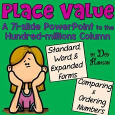 Powerpoint On Place Value Place Value Powerpoint For 4th Grade And Up By Deb