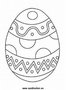 Ausmalbilder Ostern Ei Ostereier Zum Ausmalen Ausdrucken Kostenlos Line