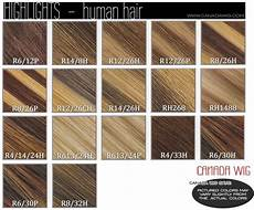 Wigs Color Chart Estetica Designs Wig Color Charts