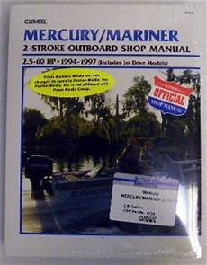 Service Manual Mercury Amp Mariner 2 5 60hp Two Stroke 1994 1997