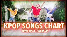 2018 Pop Charts K Pop Songs Chart June 2018 Week 3 Youtube