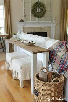 Sofa Table Decor 3d Image by 20 Easy Diy Console Table And Sofa Table Ideas Hative